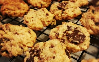 Thermomix Peanut Butter Chocolate Flourless Cookies