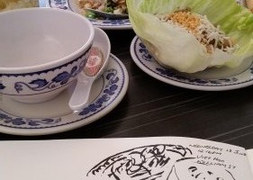 Lunch Sketch at Viet Hoa