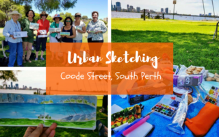 Urban Sketching : Coode St, South Perth